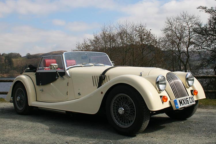 The Morgan Driving Experience.